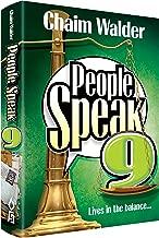 الأشخاص Speak 9–مطبوع عليه Lives In The التوازن...