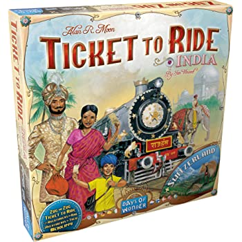 Ticket to Ride: India Map Collection Two
