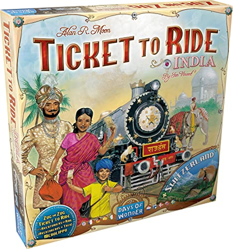 Days of Wonder 811774 - Ticket to Ride India