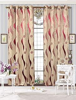 Sapphire Home 2 Grommet Semi-Blackout Curtain Panels 84