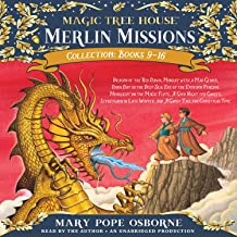 Merlin Mission Collection: Dragon of the Red Dawn; Monday with a Mad Genius; Dark Day in the Deep Sea; Eve of the Emperor ...