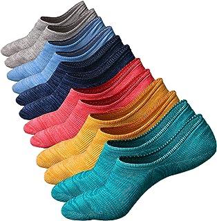 comprar comparacion Ueither Calcetines de hombre antideslizantes de algodón de corte bajo