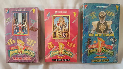 Mighty Morphin Power Rangers Series 2 Trading Cards Box -36 Count by MMPR
