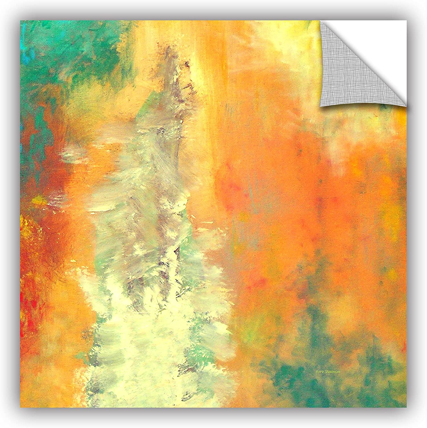 Art Wall Herb Dickinson's Abstract 204 Art Appeelz Removable Graphic Wall Art, 18 by 18Inch
