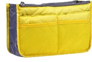 Purse Organizer,Insert Handbag Organizer Bag in Bag (13 Pockets 30 Colors 3 Size)