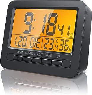 comprar comparacion Bearware - Despertadores electrónicos Alarma de Viaje Alarma por Radio controlada por DCF - Pantalla LCD de 2,7 Pulgadas -...