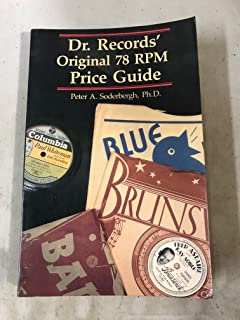 Dr. Records' original 78 RPM price guide