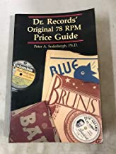 Dr. Records' original 78 RPM price guide
