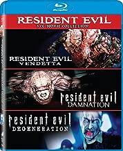 Resident Evil: Damnation / Resident Evil: Degeneration / Resident Evil: Vendetta - Set