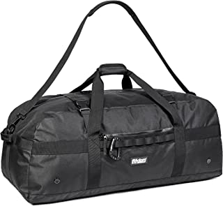 Heavy Duty Extra Large Sports Gym Equipment Travel Duffel Bag W/Adjustable Shoulder & Compression Straps. Perfect for Team Coaches & Best for Soccer Baseball Basketball Hockey Football & More