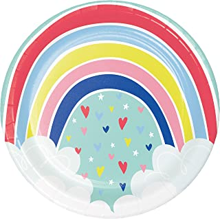 Over the Rainbow Paper Plates, 24 ct
