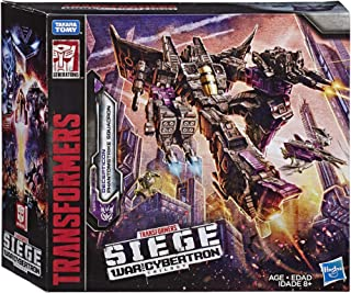 Transformers Toys Siege War For Cybertron Voyager Wfc-S27 Decepticon Phantomstrike Squadron 4 Pack - Final Strike Figure Series: Part 2 (Amazon Exclusive) (Renewed)