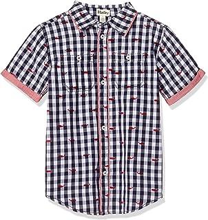 Hatley Boys` Short Sleeve Button Down Shirt