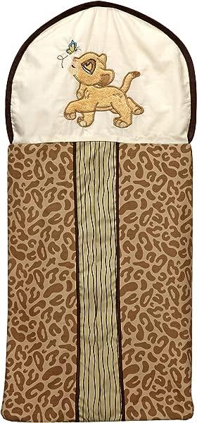Disney Lion King Simba S Wild Adventure Appliqued Diaper Stacker Ivory Brown Sage Tan