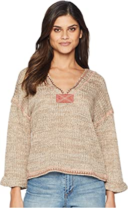 3/4 Knit Top