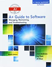 Bundle: A+ Guide to Software, 9th + Lab Manual + LabConnection, 2 terms (12 months) Printed Access Card (CompTIA A+ IT Tech Support Software)