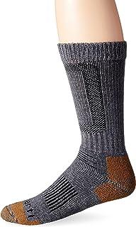 Carhartt Men's Merino Wool Comfort-Stretch Steel Toe Socks