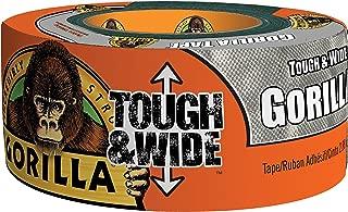 Gorilla Tape, Tough & Wide Silver Duct Tape, 2.88