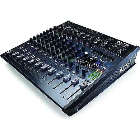 Alto Live 1202 12channels 20-20000Hz Noir - tables de mixage audio (12 canaux, 24 bit, 20-20000 Hz, 90 dB, 51100 Ohm, 0,02%)