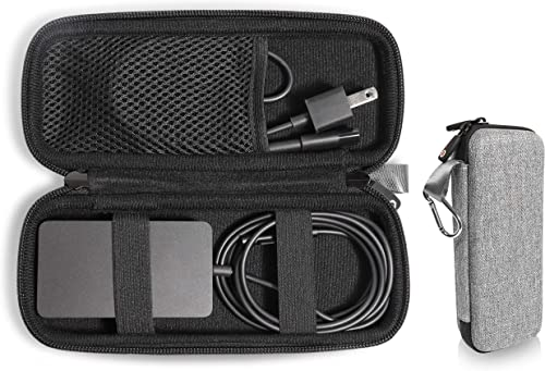 popular GETGEAR Laptop Charger case, Customized for Microsoft wholesale Surface, pro 2, with mesh Pocket for Microsoft Surface Arc Mouse, Flash Drive or Other Essential high quality Accessories (Tweed Gray) online sale