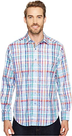 Robert Graham - Stowe Long Sleeve Woven Shirt