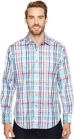 Robert Graham - Stowe Long Sleeve Woven Shirt