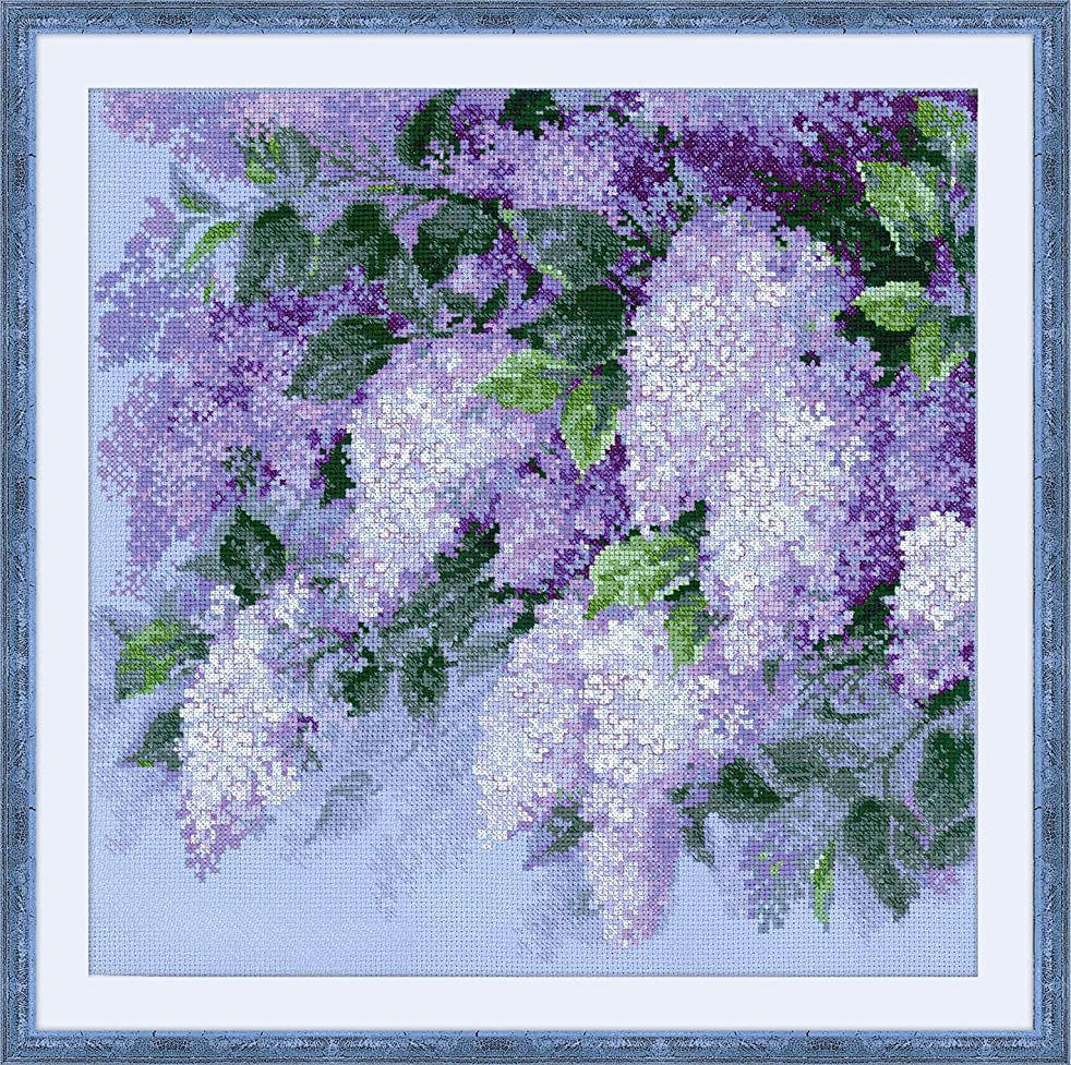 RIOLIS 1533 - Lilacs after the Rain - Counted Cross Stitch Kit 17?