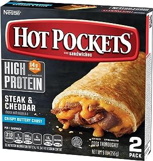 HOT POCKETS Frozen Sandwiches Steak & Cheddar 2-Pack