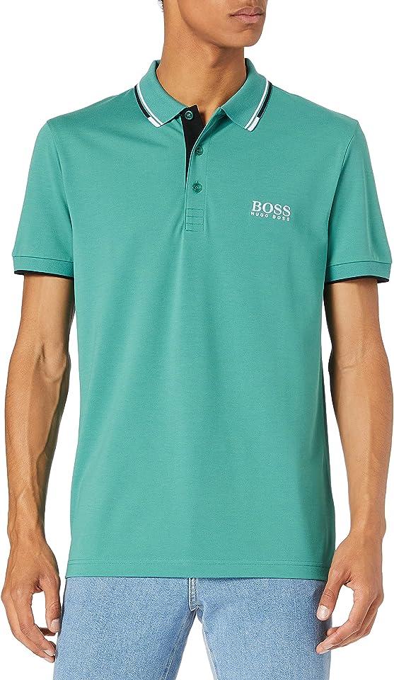 Herren Paddy Pro Golf-Poloshirt aus Stretch-Baumwolle mit S.Café®