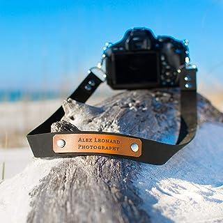 Custom Leather Camera Strap | Leather camera strap | Personalized camera strap | Leather anniversary gift