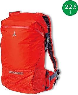 AL5043210 Mochila de esquí Touring para Hombre y Mujer, Backland 22+, Unisex Adulto, Rojo Claro, 22 litros+, 510 x 140 x 320 cm