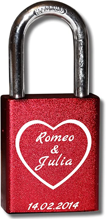 3dglas lucchetti dell amore | moltissimi layout e motivi | personalizzatola tua incisione con nome, data LS_HW_bunt_001_IT