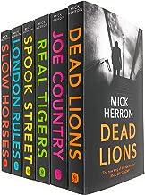 Mick Herron Jackson Lamb Thriller Series 6 Books Collection Set (Slow Horses, Dead Lions, Real Tiger, Spook Street, London...