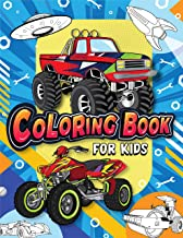 Sponsored Ad - Coloring Book for Kids: Fun & Theme Based Coloring Book for Early Learning - Cartoon-Inspired Designs of Th...