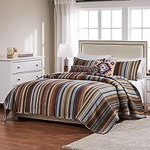 Greenland Home Durango Bedding Set, 5-Piece Full/Queen, Stampede