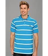 U.S. POLO ASSN. - Narrow Striped Polo with Small Pony