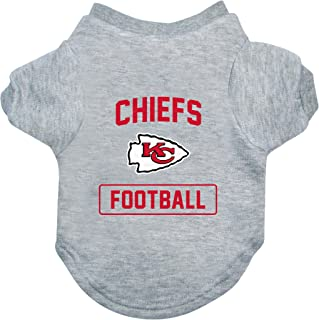 Littlearth NFL Kansas City Chiefs Pet T-Shirt, Extra Large