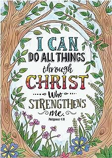Creative Teaching Press Wall Décor, Religious Philippians 4:13 Rejoice Inspire U Poster (2311)