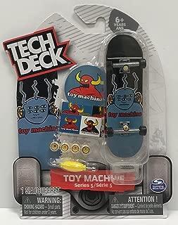 Tech Deck Series 5 Toy Machine 6 Eye Alien Collectible Fingerboard