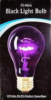 Wall-Mart Black Light Bulb, 75Watt