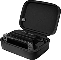 Amazon Basics Hard Shell Travel and Storage Case for Nintendo Switch - 12 x 4.8 x 9 Inches, Black