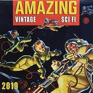 Amazing Vintage Sci-Fi 2019 Calendar