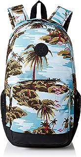 Hurley Men's Renegade Printed Laptop Backpack, ocean bliss, QTY