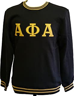 Buffalo Dallas Alpha Phi Alpha Crew Neck Mens Sweatshirt
