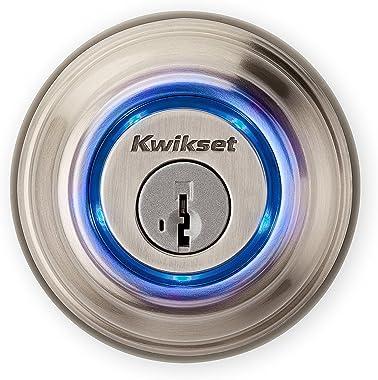 Kwikset - Kevo 99250-202 Kevo 2nd Gen Bluetooth Touch-to-Open Smart Keyless Entry Electronic Deadbolt Door Lock Featuring Sma