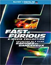 Fast & Furious Collection - The Fast And The Furious / 2 Fast 2 furious / The Fast And the furious Tokyo drift / Fast Five / Fast & Furious 6
