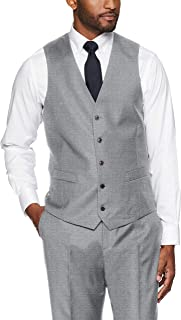 Buttoned Down Men's Tailored Fit Italian Wool Suit Vest