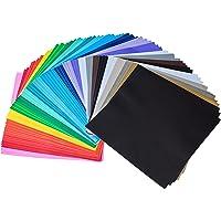 iImagine Vinyl 72-Sheets of Premium Permanent Self Adhesive Vinyl Sheets ( 12