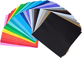 iImagine Vinyl 72-Sheets of Permanent Self Adhesive Vinyl Sheets