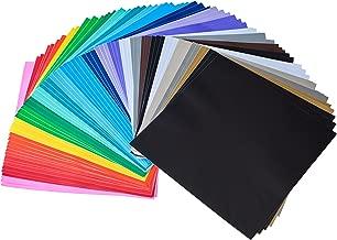 iImagine Vinyl 72-Sheets of Premium Permanent Self Adhesive Vinyl Sheets, 12